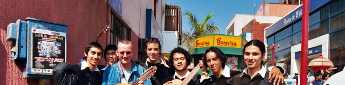 Arica – Chile – Universidad music